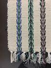 Vintage Hayim Company Cotton Hand Woven Rug Mat India Bathmat Door Entry 30x48