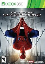 THE AMAZING SPIDER MAN 2 XBOX 360 NEW! MARVEL, SPIDERMAN, SUPER HERO, FUN GAME!