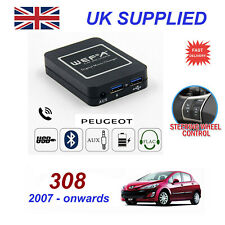 Peugeot 308 Music Streaming Bluetooth Telephone Charger SD AUX CD Module RD4