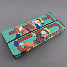 Long style PU wallet w/colorful printing of Anime NARUTO Uzumaki