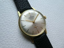 Very rare Vintage Flat CORNAVIN GENEVE Men's dress watch from the 1960's years!