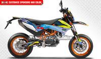 Kungfu Graphics MX Decal Kit for 690 SMC Enduro R 2012 2013 2014 2015 2016 2017