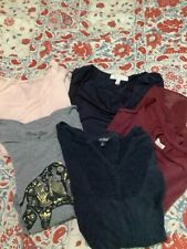 Lot of 5 Women's Tops  Guess Lucky Ellen Tracy Madison Jules new &used Size XL