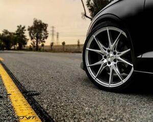 "19"" inch Audi Mercedes Benz VW Wheels INOVIT Speed Silver Size 19x8.5 PCD 5x112"