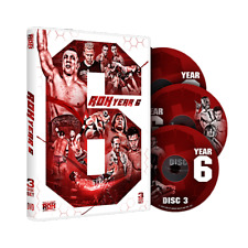 Official ROH Ring of Honor  - Year 6 (3 Disc Set) DVD
