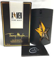Thierry Mugler AMen Pure Malt EDT Spray Mens 100ml/3.4oz Tonka havane shot wood