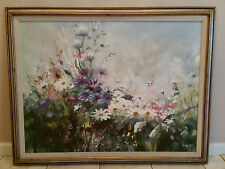 Floral Oil Painting, Thomas Pell