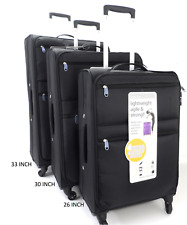 26 Inch Large Lightweight 4 Wheel Spinner Suitcase Luggage Travel Trolley Cases