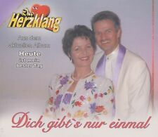 Duo Herzklang - Dich gibt's nur einmal ° PROMO Maxi-Single-CD ° FAST WIE NEU °