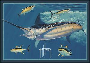 Milliken Guy Harvey Marlin Tuna Area Rug