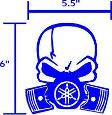Yamaha Skull decals sticker graphic.