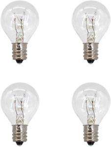 Haraqi Wax Warmer Bulbs Middle Size Scentsy Warmers Light Bulb, 20W Pack of 4