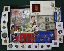 US/World Coin Collection Silver Set Dollar Currency Junk Drawer Lot Bulk Estate