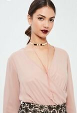Gold Thin-line Metal Chocker Necklace New Style Choker Uk Seller