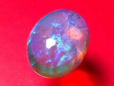 High Dome Nice Cut Sparking Gorgeous Natural Solid Black Crystal opal 3.18 ctw.