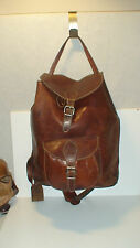 ROOTS # 2 AUTH. PRE-PRODUCTION PEBBLED  LEATHER  BACKPACK RUK SAK