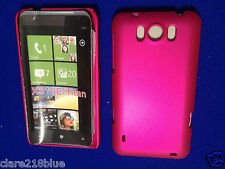 HTC X310e Titan Hard Raspberry Pink Dark Metallic Case Shell Mobile Cover