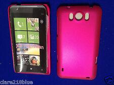 HTC X310e Titan Hard Raspberry Pink Dark Metallic Case Shell Mobile Cover