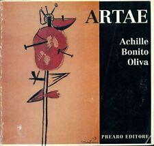 BONITO OLIVA Achille, Artae. Prearo, 1991