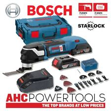 BOSCH GOP 18v-28 Starlock Brushless Multi-Cutter con 20 accessori 2 x 2ah