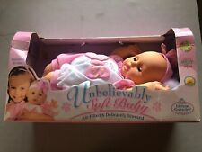 Goldberger Unbelievably Soft Baby Air Filled & Delicately Scented Blue Eyes