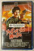 The Evil That Men Do VHS 1984 Thriller Charles Bronson RCA/Columbia/Hoyts Video
