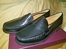 Johnston And Murphy Ainsworth Black penny loafer mens shoe Size 13