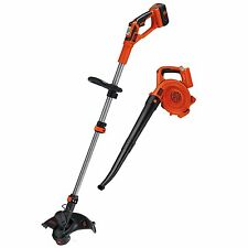 Black & Decker LCC140 40-volt Max String Trimmer and Sweeper Bundle, New Awesome