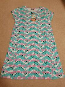 BNWT Tuc Tuc Girl's Flamino Print Dress Age 10 RRP £26