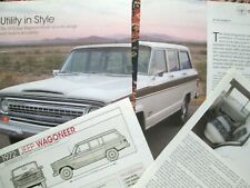G 1972 Willys Wagoneer Information