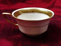 Vintage Tea Cup China Rosenthal Ivory Bavaria Premier Gold Rim