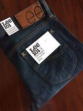 LEE 101S The Original Slim Rider Blue Denim Jeans Style:L97049QI (Size30) $260