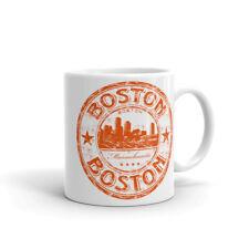 Boston Massachusetts USA Haute Qualité 10 oz (environ 283.49 g) Café Thé Tasse #5827