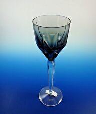 New Saint Louis of France / Hermes Metropolis Pattern Slate Grey Wine Goblet