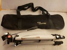SV Kenlock 60 Tripod Telescoping Cam Lock w/ Pan Tilt Head Adjustable Legs