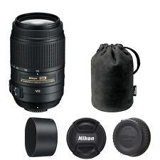 Nikon 55-300mm f/4.5-5.6G ED AF-S VR Lens for D3100 D3200 D3300 D5100 D5300 SLR