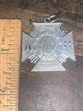 """Antique Medal Award YMCA """"Perfect Attendance"""" for 1901-1902 Providence Gym."""