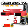 Forklift Lifting Hook 6600LBS Tine Hook Lifter Steel Hook Street Price Pro