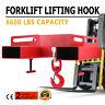 Forklift Lifting Hook 6600LBS Tine Hook Lifter Steel Hook Street Price Pro