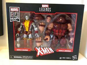 Hasbro E6344 Marvel Legends 80th Anniversary X-Men Colossus and Juggernaut...