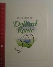 Aufkleber/Sticker: Internationale Dollard Route (10121617)