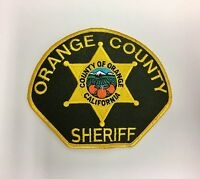 Orange County CA California Sheriffs Department Police Patch