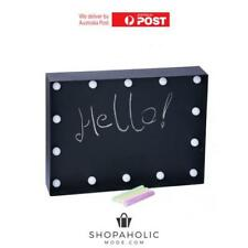 14 LED Light Up Chalk Board Blackboard Sign Party Light