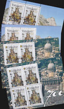 Gibraltar Vatican 2009 Used CTO Mint MNH Minisheets Sheetlets Lady of Europe