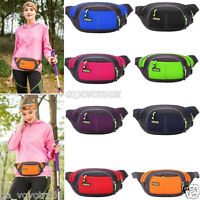 Mini Running Bum Bag Travel Handy Hiking Sport Fanny Pack Waist Belt Zip Pouch