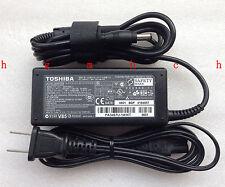 NEW Original Genuine  OEM Toshiba 65W 19V AC/DC Adapter SADP-65KB B Cord/Charger