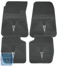 1966-72 Pontiac GTO / LeMans Factory Style Floor Mat Set - Black Rubber