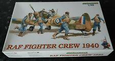 Eduard 1:48 RAF Fighter crew 1940 WWII vintage model kit 8507