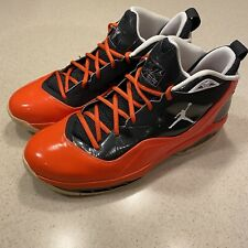 Nike Air Jordan Melo M8 Anthracite/Orange Men Size 13 Basketball Shoes