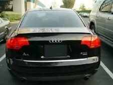 Audi A4 S4 RS4 B7 Sedan Rear Trunk Boot Spoiler Lip Wing Sport Trim Lid S Line -